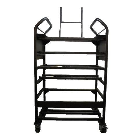 Black Metal Detailing Cart