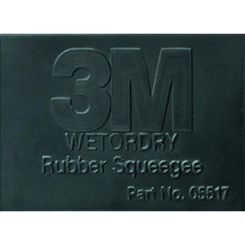 3M Wetordry Rubber Squeegee