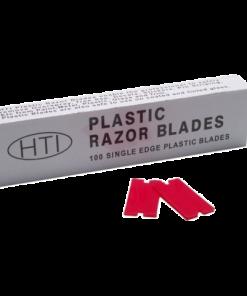 HTI Plastic Razor Blades