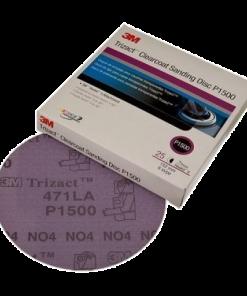 3M Trizact Hookit Clear Coat Sanding Discs