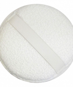 Round Terry Wax Pad With Strap