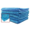 Blue Edgeless Ultra Plush Microfiber Towel