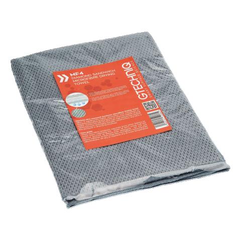 GTECHNIQ MF4 Diamond Sandwich Microfibre Drying Towel