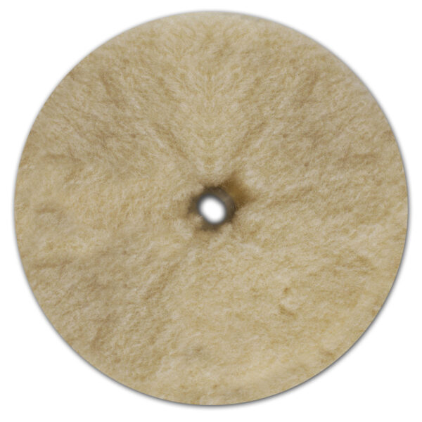 "6.5"" Prewashed Lambs Wool Buffing Pad"