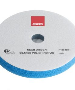 Coarse polishing foam pads for gear driven
