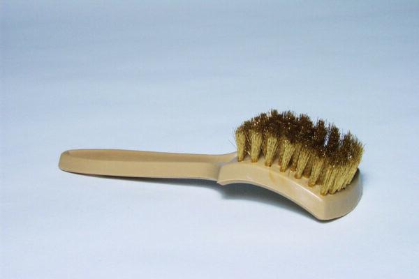Brass Whitewall & Tire Brush