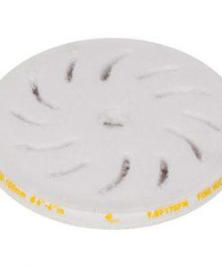 Fine microfiber polishing pads for random orbital