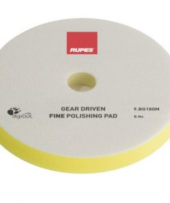 Fine polishing foam pads for gear driven