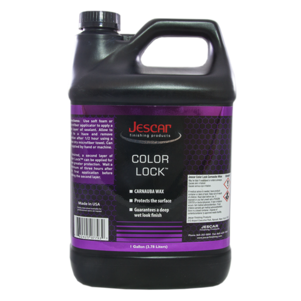 JESCAR COLOR LOCK CARNAUBA WAX  - 128oz